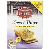 Sweet Thins Boulangerie Grissol Lemon Poppy Seed (Pack of 12)