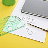 QincLing 11 Pieces Geometric Drawings Templates