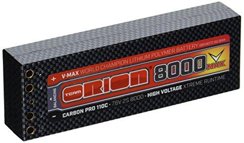 Team Orion Carbon V-Max 7.6V 8000 2S 110C (Team Orion Lipo)