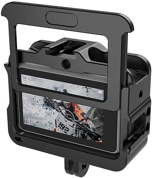 Estuche para cámara portátil y práctico Protector de cámara - Protector de Jaula de Marco de Aluminio for dji Osmo Action Estuche para cámaras Digitales: Amazon.es: Hogar