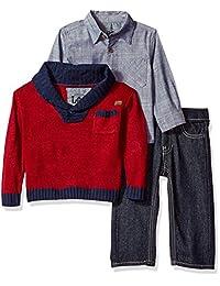 Conjunto de pantalones, camiseta y chaqueta para niños Lee Toddler Boys (niños pequeños, también para bebés)