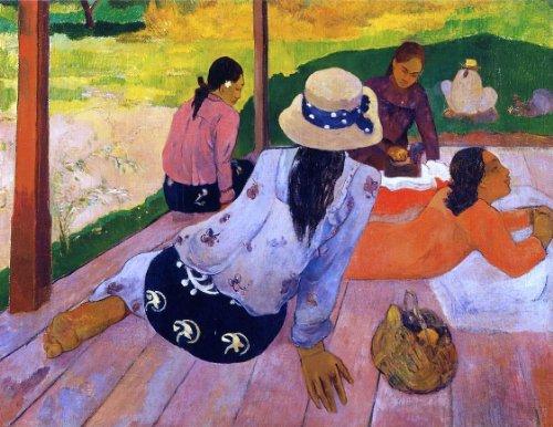 Art Oyster Paul Gauguin The Siesta - 24.1