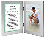 Gift for New Dad - Daddy Gift From Daughter with Sweet Poem