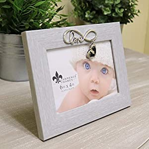 Lawrence Frames Infinity Love Picture Frame, 6×4, Gray