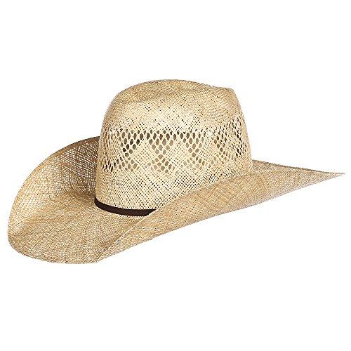 ARIAT Men's 7X Sisal SS Hat, Natural, 7 1/8 (Sisal Straw)