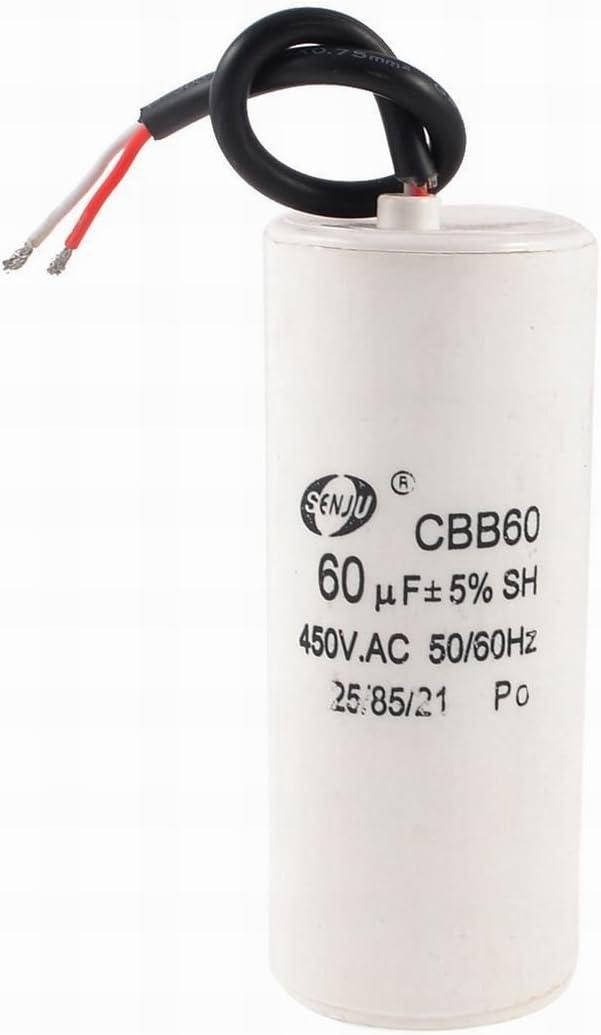 Ugtell Motor Capacitor Cbb60 capacitance 14Uf 450Vac frequency 50//60Hz motor capacitor