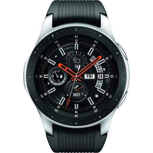 (Samsung Galaxy Watch (46mm) Silver (Bluetooth), SM-R800NZSAXAR – US Version with Warranty)