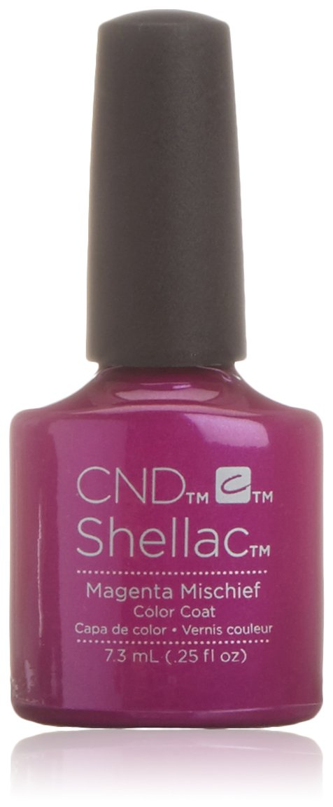 CND Shellac Smalto in Gel, Magenta Mischief - 1 Prodotto C40611