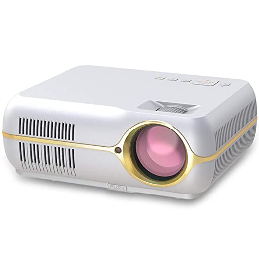 AXDNH Proyector portátil, 1280x800P 4200lux Proyector de ...