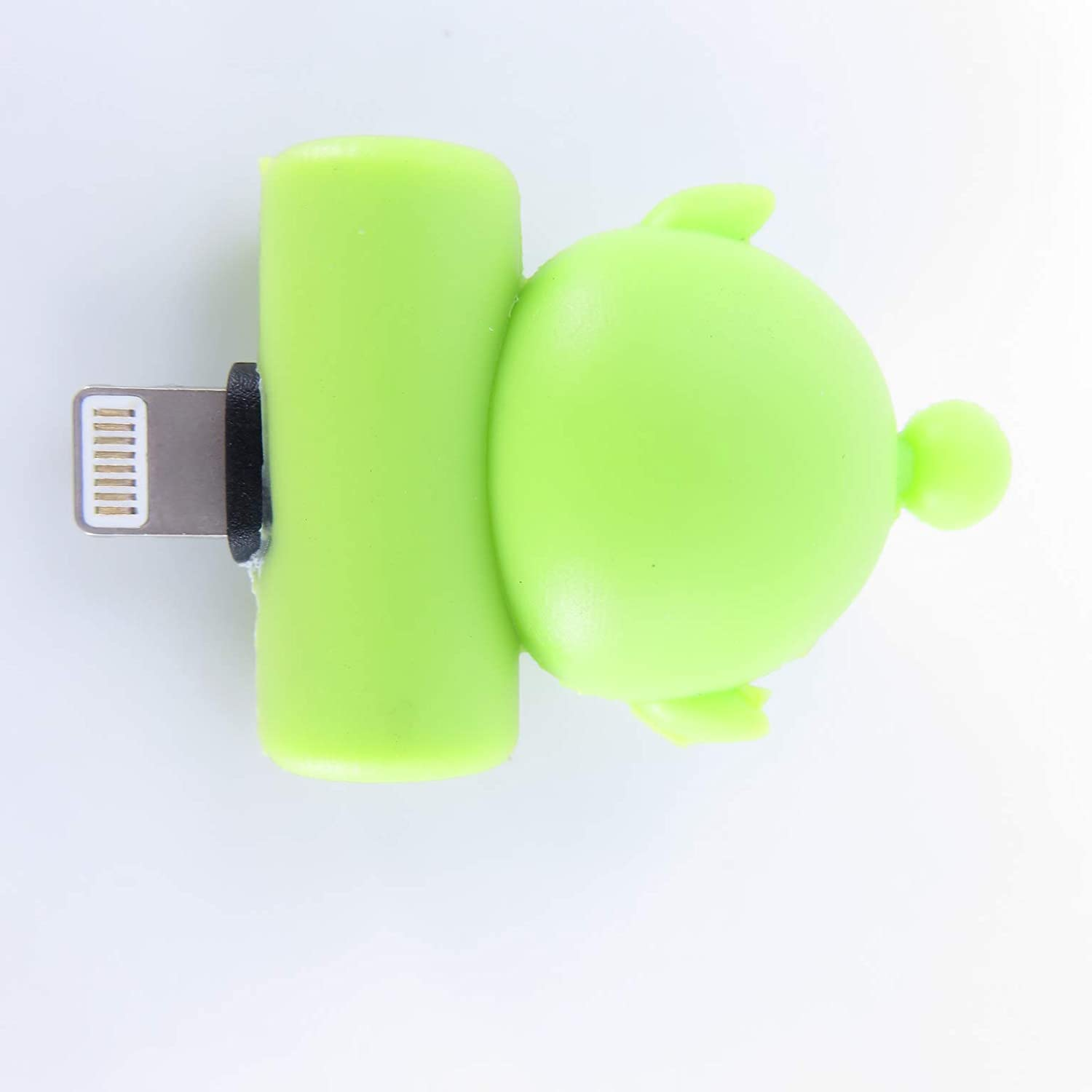 Goblin Cute Cartoon Headphone Jack Adapter for iPhone X XS Max XR 7 8 Plus Splitter Dual IP Port Aux Audio /& Charging /& Calling /& Sync Cable Connector Earphone Charger Adapter
