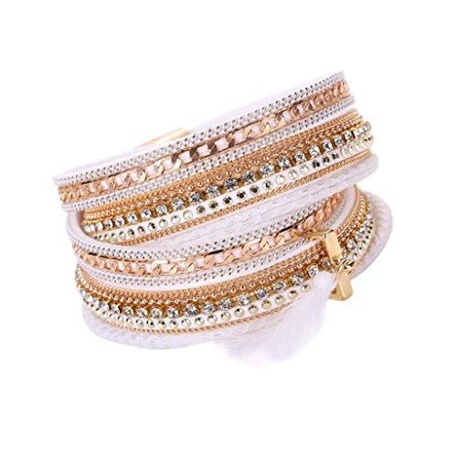 Sunfei Bohemian Bracelet Handmade Magnetic