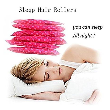 30 rizadores de pelo de esponja flexible, sin rizadores de ...