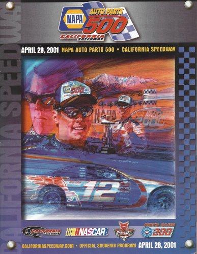 napa-auto-parts-500-california-speedway-april-29-2001-souvenir-pamphlet