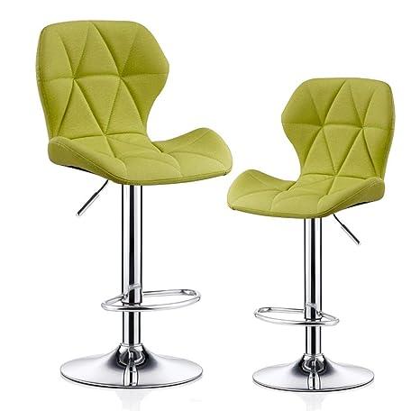 Incredible Amazon Com Cylq Bar Stools Set Of 2Adjustable Swivel Bar Creativecarmelina Interior Chair Design Creativecarmelinacom