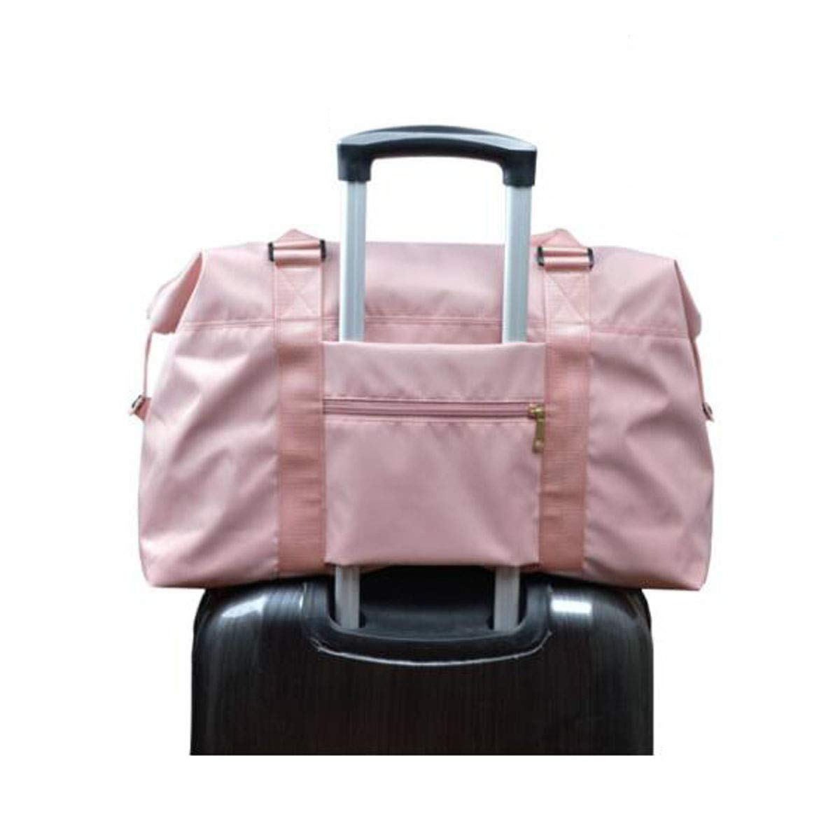 Sports Waterproof Bag Kaiyitong Fitness Bag Female Hand Bag Color : Pink, Size : 207.213.2 inch Large-Capacity Travel Bag Black Large Size: 501833