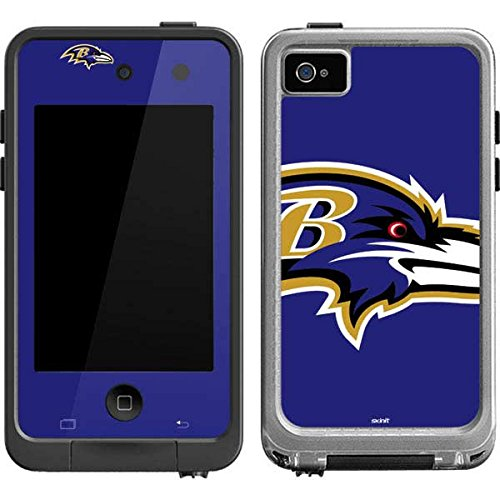 Baltimore Ravens Ipod Skin (NFL Baltimore Ravens LifeProof fre iPod Touch 4th Gen Skin - Baltimore Ravens Large Logo)
