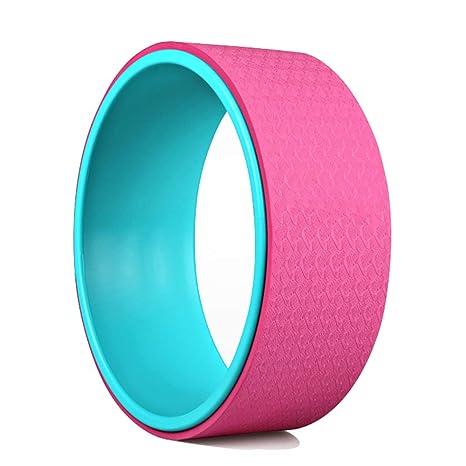 Amazon.com : Flashing Yoga Wheel Eco-Friendly Stretching ...