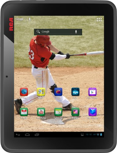 RCA DMT580DU Mobile TV 8 Inch 8GB Tablet (TV app download required) by RCA