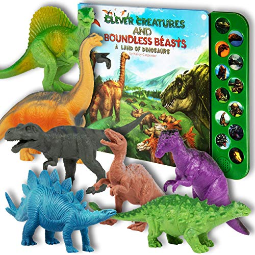 Dinosaur Educational Toys (Li'l Gen Dinosaur Toys for Boys and Girls 3 Years Old & Up - Realistic Looking 7