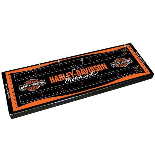 Harley Davidson Cribbage Board