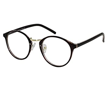 8e423fff805 Image Unavailable. Image not available for. Color  EyeBuyExpress Men Women  Glasses Reading RX Retro Style ...