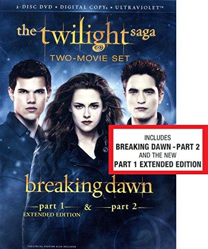 The Twilight Saga: Breaking Dawn, Parts 1 & 2 (2-Disc DVD + Digital Copy + UltraViolet)