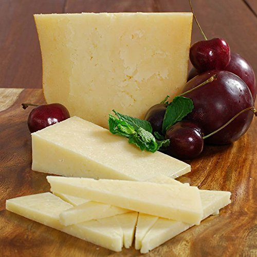 San Joaquin Gold Cheese - Italian Style Handcrafted Cheddar - raw milk - 1 lb