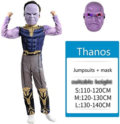 Avengers 4 Iron Man Thanos Hulk Disfraz Cosplay Adulto Final Juego ...