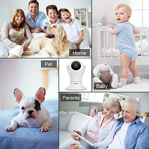 Pet Camera, 1080P Home Security Camera with Night Vision, Two-Way Audio, WIFI IP Camera for Baby Monitor, Auto-Cruise Baby Camera, Remote Control by App Indoor Camera, Cloud Storage by NMORNG (Image #8)