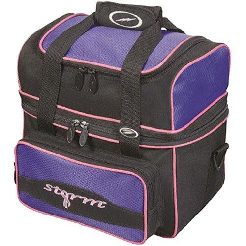 Storm Flip Tote Bowling Bag (1-Ball), Purple