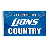 NFL Detroit Lions in Country Flag with