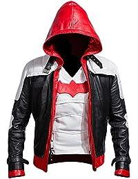 """<span class=""""a-offscreen"""">[Sponsored]</span>Batman Arkham Knight Leather Jacket + Vest 2 In 1"""