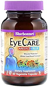 Bluebonnet Nutrition, Targeted Choice, Eye Care, 60 Vegetable Capsules