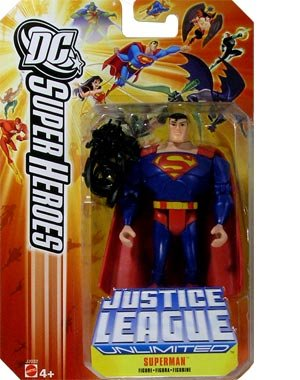 DC Super Heroes Justice League Unlimited Action Figure Superman with Black Mercy