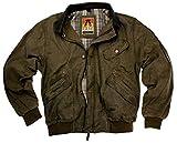 Kakadu Australia Classic Bomber Jacket Watson Bay with Leather Collar