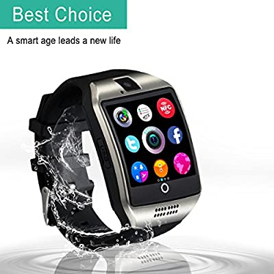 Bluetooth Smart Watch with Camera ?Waterproof Smart Watch?Touch Screen Smart Watch Support iPhone and Android Smartphones Samsung iPhone 7 Plus 6S for Kids