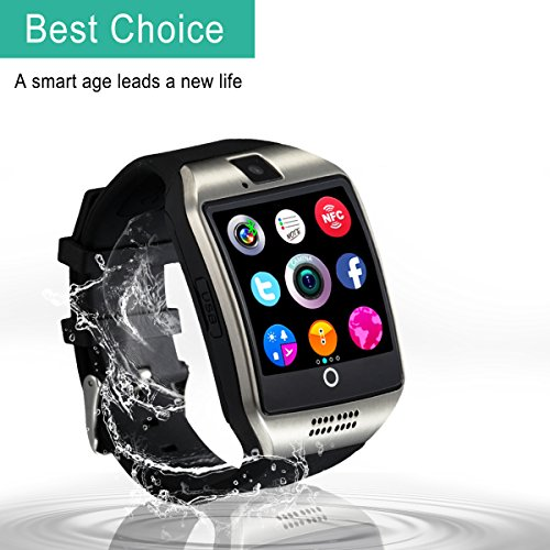 Bluetooth-Smart-Watch-with-Camera-Waterproof-Smart-WatchTouch-Screen-Smart-Watch-Support-Iphone-and-Android-Smartphones-Samsung-Iphone-7-Plus-6S-for-Kids