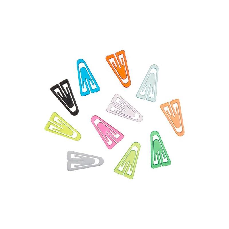 ADVANTUS Medium Plastic Paper Clips, 1 I