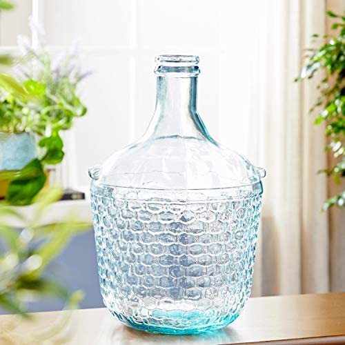 Deco 79 18221 Glass Wide Bottle Vase