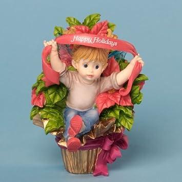 Kitchen Fairies Happy Holidays Little Poinsettia Fairie