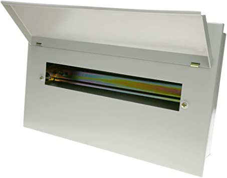 BeMatik - Caja de distribución eléctrica de 16 módulos 17.5 mm ...