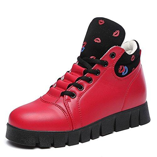 Zapatos nuevos Transpirables Mujer Hasag para Zapatos Zapatos Deportivos red Zapatos Individuales Deportivos Correr de nqSnIT