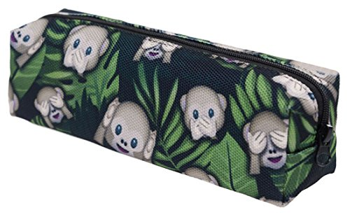 Avec Emoji Modèle Monkey Impression Kukubird À Divers Kukubird Crayon Animal Jungle Poussière Sac Affaire xWnSwSTq