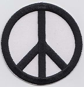 Paz CND Badge bordados
