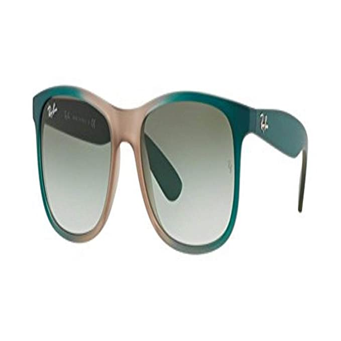 Ray-Ban 0RB4202 Gafas de sol, Grad Green On Lt Brown Rubber ...