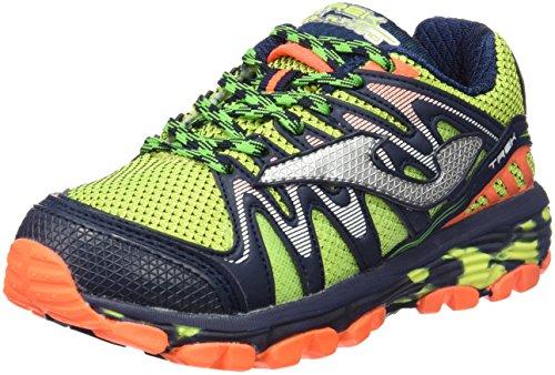 Joma J.trek Jr 611 Fluor-marino - Zapatillas de correr en montaña Niños FLUOR