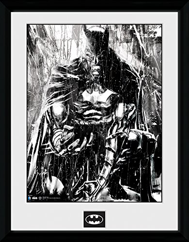 DC Comics Batman Comic Rain Framed Photograph, 16 x 12 inch GB eye Ltd PFC810