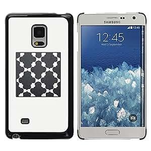 FECELL CITY // Duro Aluminio Pegatina PC Caso decorativo Funda Carcasa de Protección para Samsung Galaxy Mega 5.8 9150 9152 // Church God Prey Grey Beige