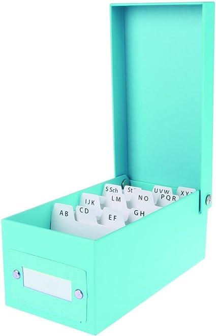 Caja de aprendizaje DIN A8/fichero (/incl. 400 tarjetas y registro ...