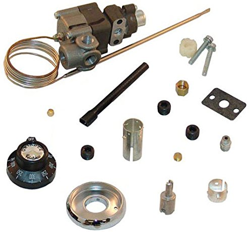 Bjwa Thermostat - Robertshaw 4350-028 Gas Cooking Control Thermostat Kit for Griddles